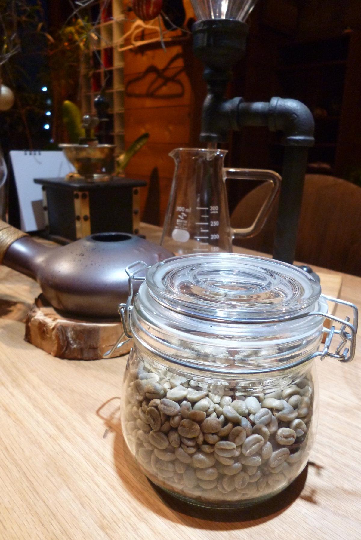 コーヒーの生豆を入荷しました